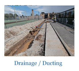 Drainage and ducting